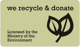 Alpine recycles and Donates